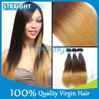 hiqh quality ombre x-pression braid hair 5a ombre remy tape hair extension