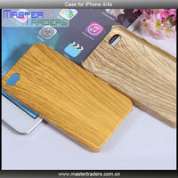 High Quality Wood Grain Series Plastic Case for iPhone 4/4S MT-1657