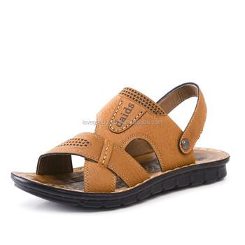 2015 Men New Design Child Beach Sandal Slippers Beach Shoes Men's ...