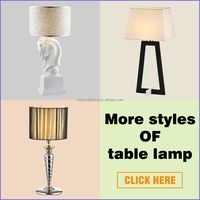 best sale table light home decor hotel lamp replica flos lamp taccia table lamp