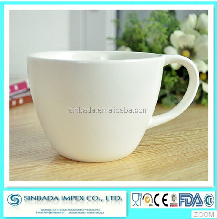eco ware white porcelain coffee mug as dinnerware