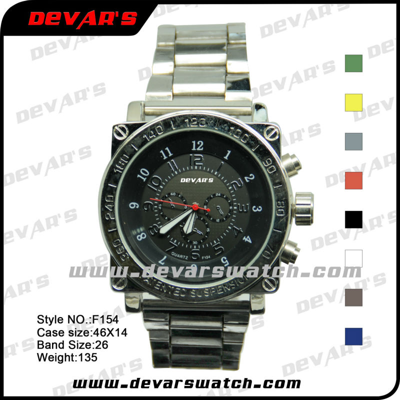 F154 wwrist atches made in china new trending watches fashion popular teenage fashion watches 2013 with digital for men