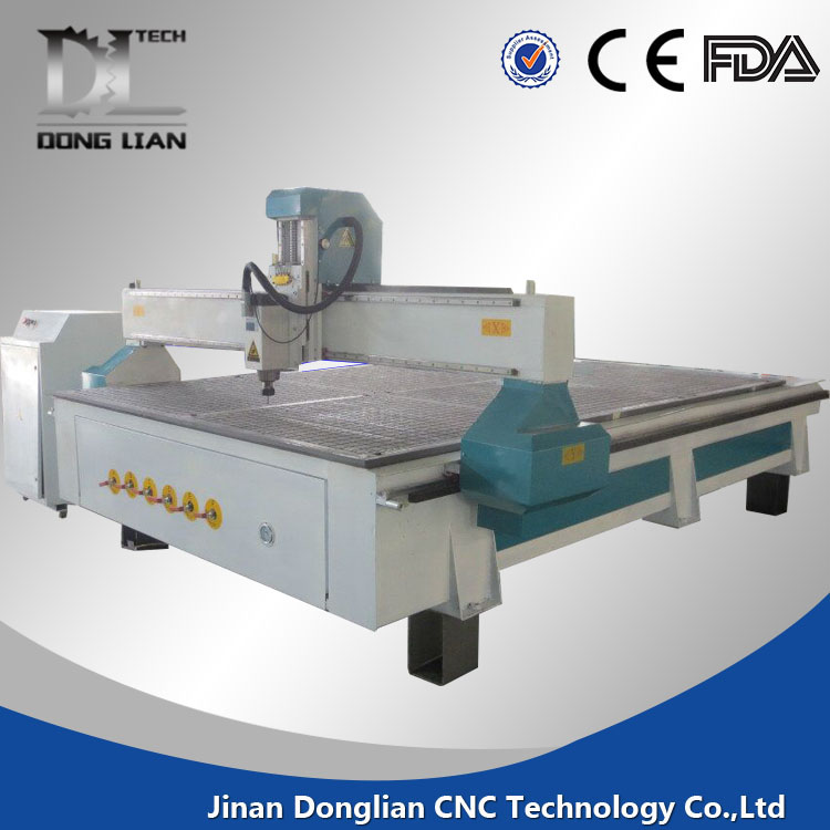 advertising cnc router 6060 3d for mdf , furniture , door work center granite sink hole cutting
