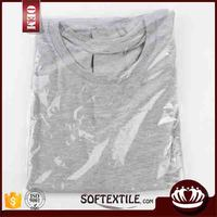 china manufacturer cheap price O-neck super soft new model t shirts france
