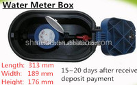China supplier low price water meter box with valve