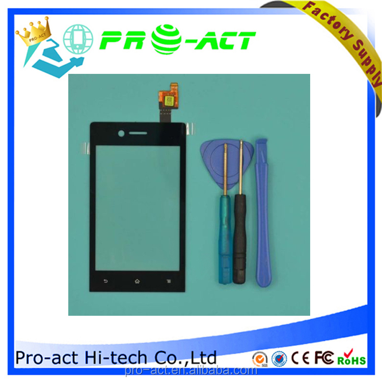 new arrival for Sony st23 touch screen spare part hot selling