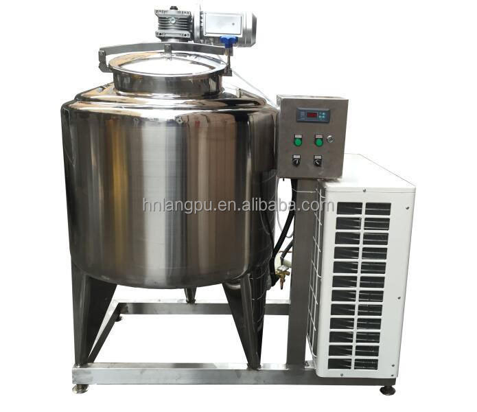 ISO9001 certificate Stainless steel milk cooling tank price
