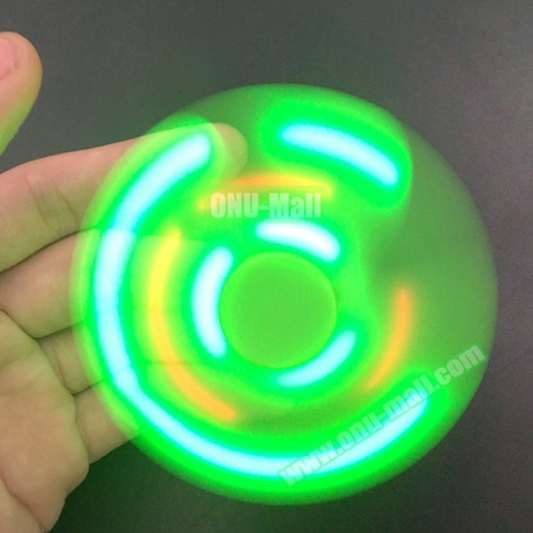 2017 New Trend Products Lightning Bluetooth LED Hand Spinner Toy