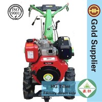 Mini traktor electric start walking tractor cultivators