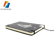 Customized logo A5 hardcover notebook printing on demand