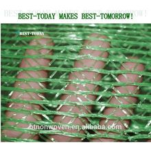 green and black color 100% HDPE 70g agricultural sun shade net
