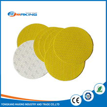 "sp-03 Yellow 9"" round sand paper for drywall sander"