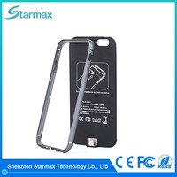 Battery and case 2 in 1 2400mAh power bank portable charger for iPhone