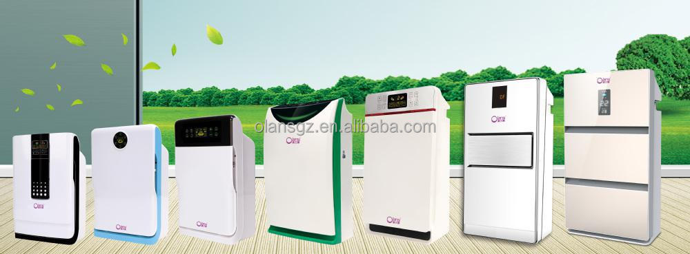 China air purifier/powerful functions/HEPA filter/ionizer air purifier K06/Big air flow, high-speed fan