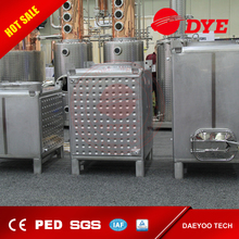 DYE Stainless Steel industrial square Fermentor tank