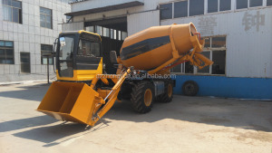 cheap price Electric Self Loading portable concrete mixer