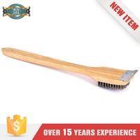 Alibaba Products Straight Wooden Handle Back Wash Brush