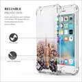 Shockproof Tpu Frame Clear PC Hard Print Picture Case For Apple iPhone 7
