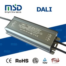 CE RoHs approved Dali waterproof electronic Led driver IP67 for outdoor lights CV power 100W current supply 4200mA 8300mA