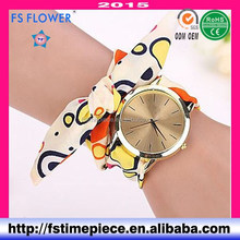 FS FLOWER - New Fashion Womens Watch Cloth Strap Wholesale At Bulk