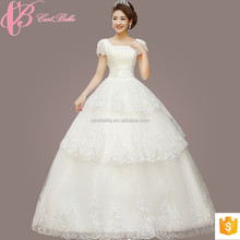 Guangzhou Wholesale Under 50 Bling Wedding Dresses 2017 Ball Gowns For Fat Bride