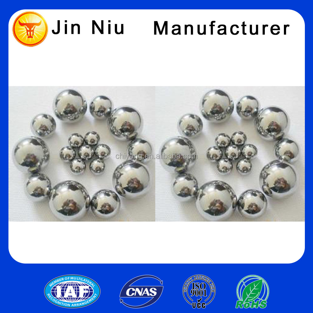 China steel ball factory supplied small stainless steel ball joints