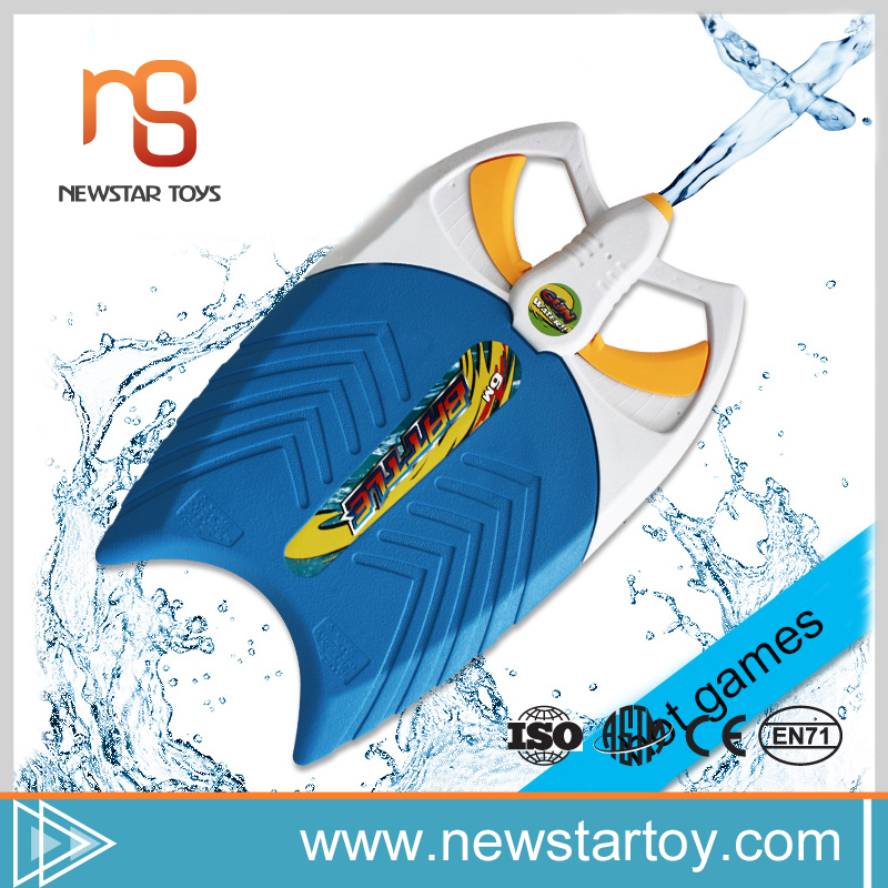 educational sport water gun modeling plastic mini toy surfboard for children