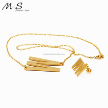 MS-109 birthday gifts many styles women stainless letter P steel pendant jewelry earring