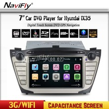 Cheapest price + OEM for Hyundai IX35 Car audio system with Wince 6.0 MTK MT3360 DVD GPS Radio RDS Bluetooth A2DP Car dvd player