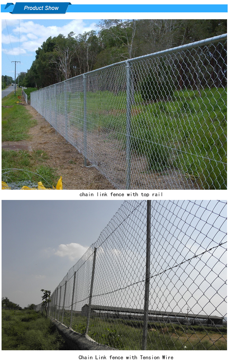 9 gauge used chain link fence for sale