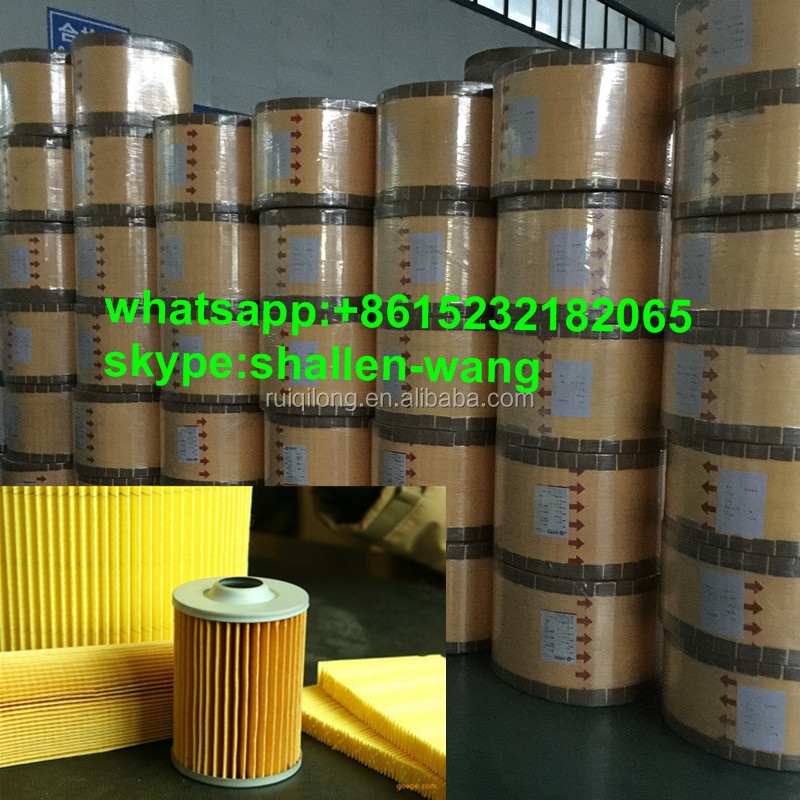 Chinese supplier 70-180gram engine oil filter paper