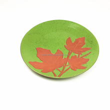 Terracotta Clay Maple Leaf Plates