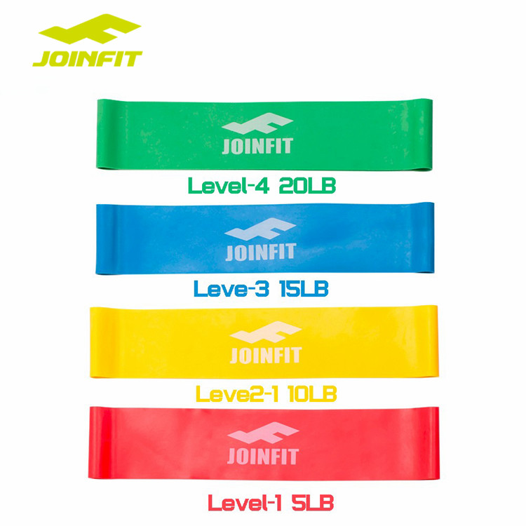 JOINFIT Fitness Resistance Bands Loop Set of 4pcs