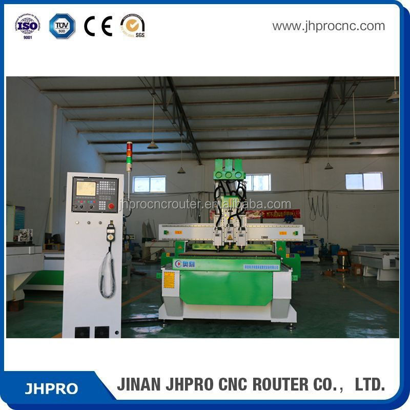 wood working machine cnc router from Jinan on sale pneumatic atc cnc servo motor