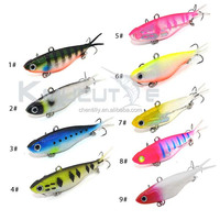 soft VIB lures on sale factory directly price for fishing trout redfin bonito salmon bass lure custom colors