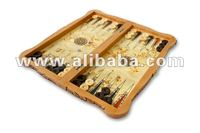 Dal Model Carved Middle Backgammon