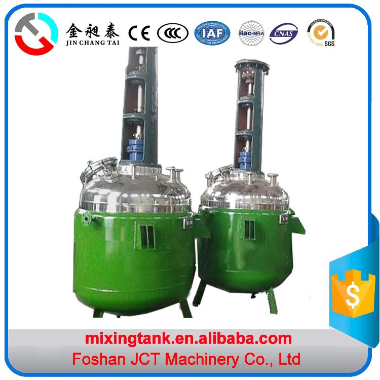 2016 JCT Chemical Reactor plastic vats and Mixer