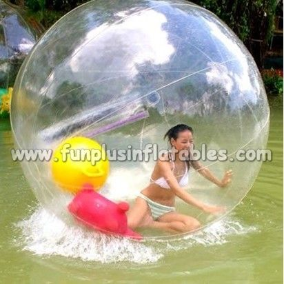 outdoor transparent inflatable water running bumper ball for sale F7041(4)