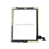 wholesaleouch Glass Screen Digitizer Home Button Assembly+Frame For iPad 2
