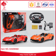4 CH Power Steering Remote Control RC Drift Car Toys for Kids