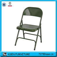 Cheap used metal folding chairs KC-C6