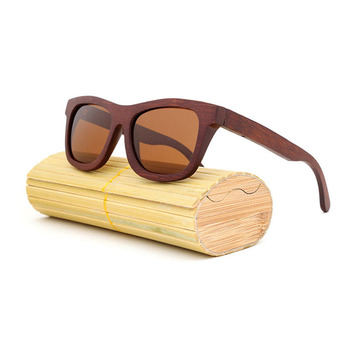 Free sample Fashion vintage classics printing  logo wooden sunglasses 2019