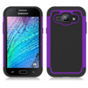 Hybrid Rugged Shockproof Heavy Duty Slim Armor Hard ballistic Case Cover For Samsung Galaxy J1