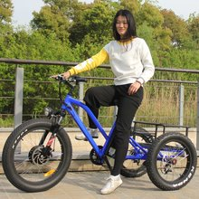 high quality fat tire three wheeler adult electric tricycle