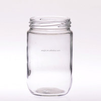 GLS-J30063-01 300ml (10.5oz) Sauce Glass Jar, Food Glass Container, Wholesale