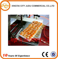 High Quality Automatic meat ball skewering machine,fish meat ball