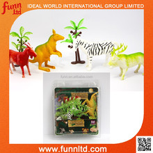 Jumbo Forest Animals - Plastic Forest Animal Play Set Toy