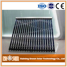 ENSUN heat pipe solar collector for Europe market