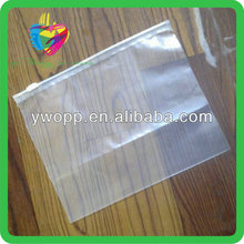 Yiwu disposable ldpe plastic clear zippered garment bags wholesale