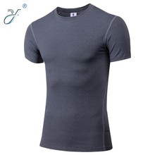 Wholesale Men's Sport Wear Dry Fit Cycling Clothing T Shirt